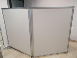 Biombo flexible ideal como separador para oficina