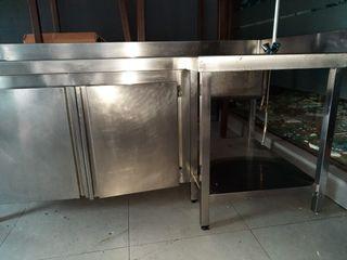 Mueble cocina industrial