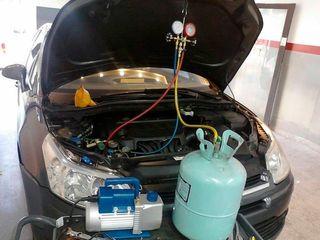 Instalador de refrigerante para su coche