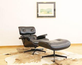 Loungue chair + ottoman