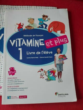 Vitamine 1 - Libro francés 5° primaria