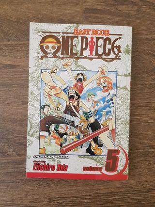 One Piece n°5 en ingles