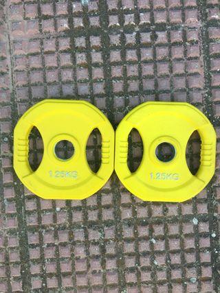 Discos body pump 1,25 kg