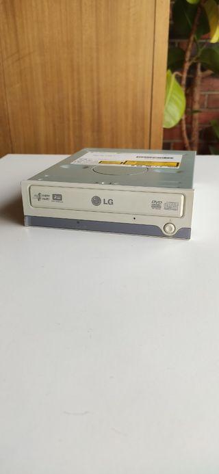 Lector/grabador de cd-dvd LG.