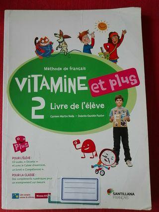 Vitamine 2 - libro francés - 6° primaria