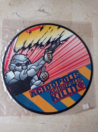 DISCO DE VINILO PICTURE DISC DJ