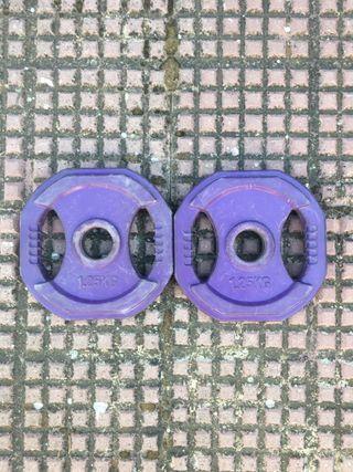 Discos de body pump 1,25 kg