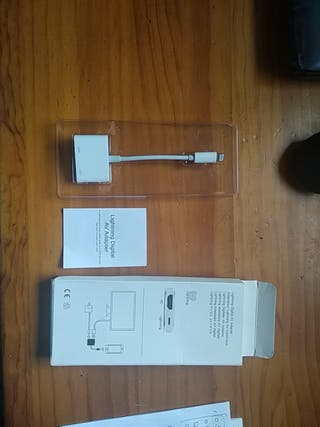 Adaptador HDMI iPad Lightning