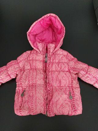 abrigo freestyle talla 24-36 meses