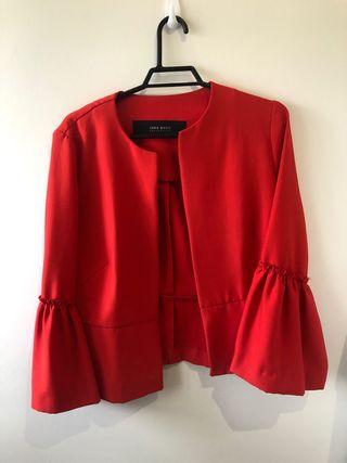 Chaqueta Roja Zara