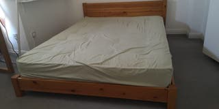 Bed + mattress king size