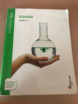 Libro KIMIKA EN EUSKERA segundo de bachillerato