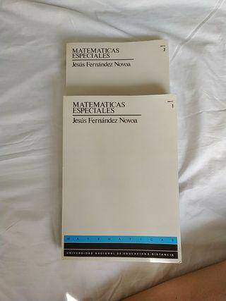 libro matemáticas especiales UNED