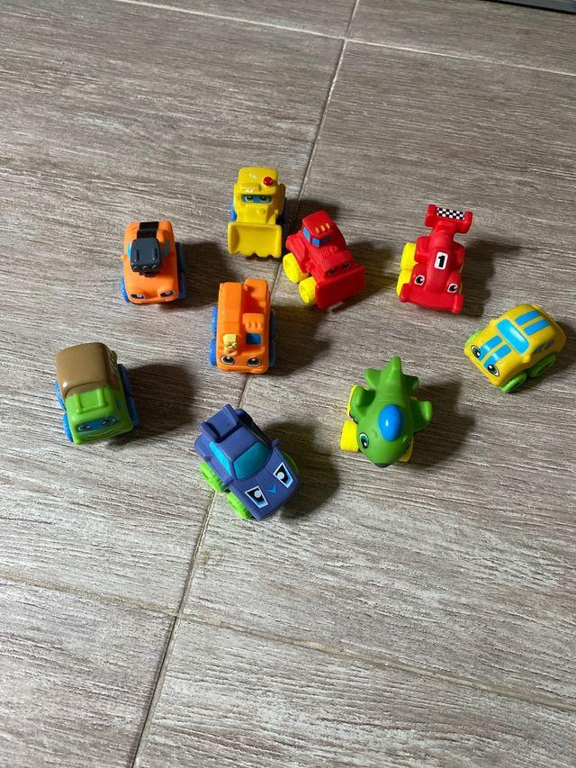 Juguetes blandos transportes