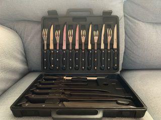 Set cubiertos y cuchillos Rostfrei