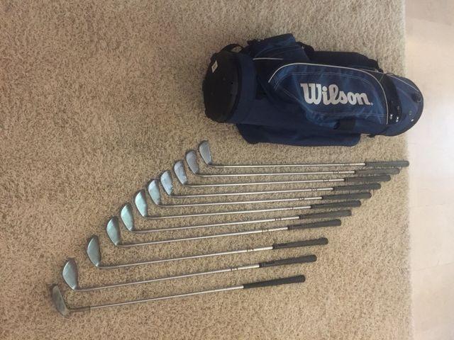 Set palos golf clásico Ping Eye 2