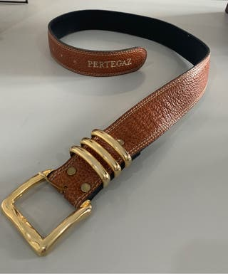 Cinturón piel Pertegaz
