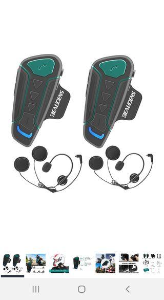 Intercomunicador Casco Moto