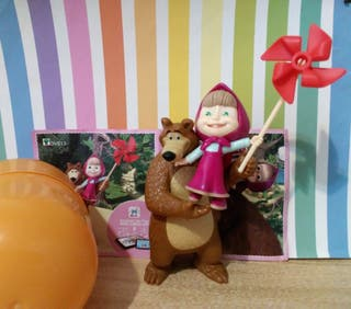 kinder maxi dve13 masha and the bear 2020