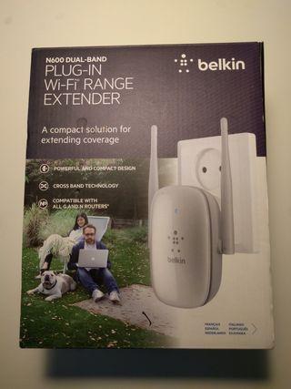 Belkin Amplificador Wifi Doble Banda 2.4Ghz 5Ghz