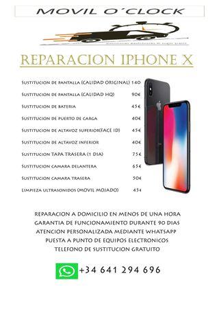 REPARACION IPHONE X
