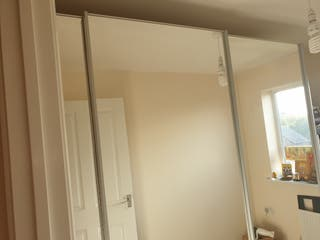 John Lewis 3 doored sliding Wardrobe