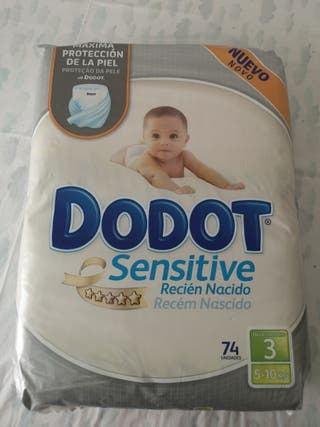 Pañales Dodot Sensitive 3