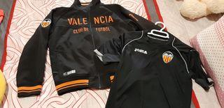 chaqueta y camiseta oficial talla12 Valencia