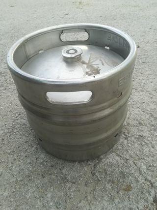 2 envases de acero de 30 litros