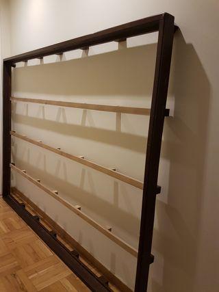Estructura marco cama tatami japones