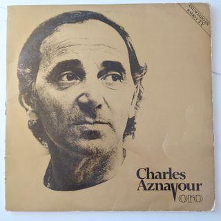 Vinilo 2 LP de Charles Aznavour - Oro