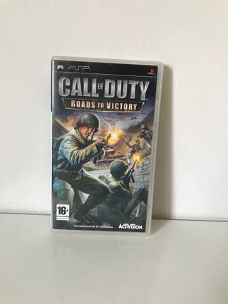 """Juego para psp """"Call of Duty, road to victory"""""""