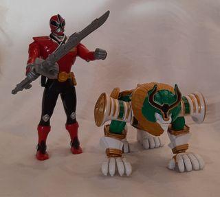 Muñecos de Power Rangers