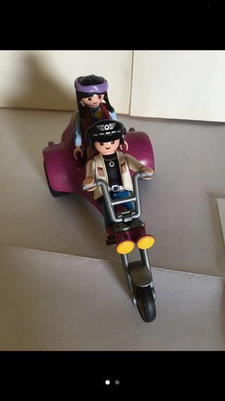 Moto Custom Playmobil Original