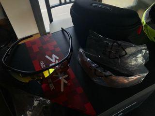 Gafas Spiuk Jifter + casco Spiuk