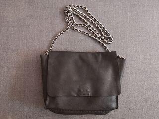 Bolso negro de Zara 100% piel