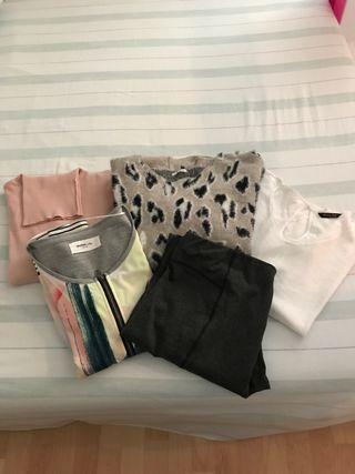 Lote ropa mujer otoño-invierno talla 42-44
