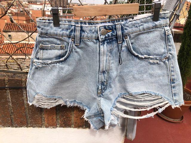 Short hi-rise rotos (38) Zara