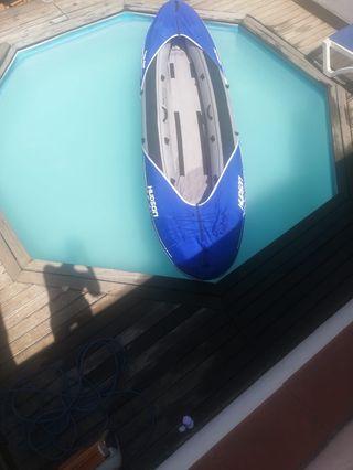 Barca canoa piragua