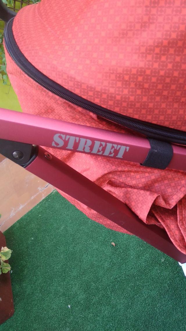 Vendo carrito bebe marca be cool street