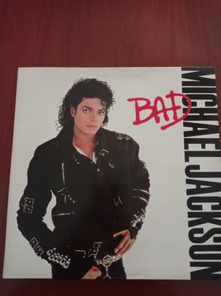 Disco de vinilo Michael Jackson, Bad, año 1987