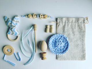 Saco de los tesoros Baby Blue