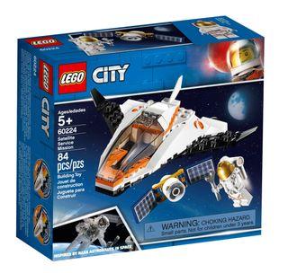 LEGO City Misión: Reparar el Satélite