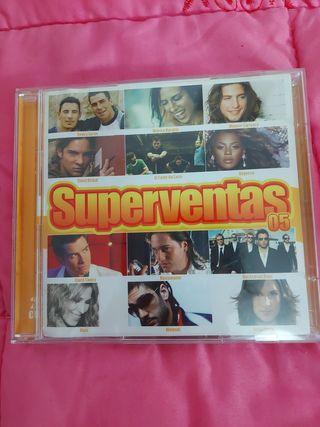 Cd Superventas 2005