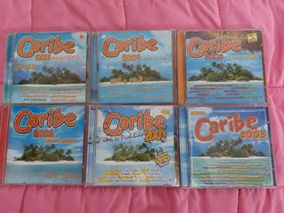 12 cds + 6 dvds Caribe