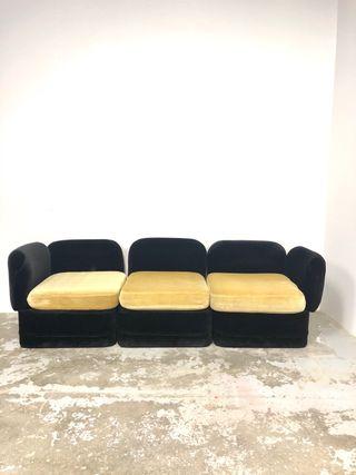 Sofa terciopelo vintage