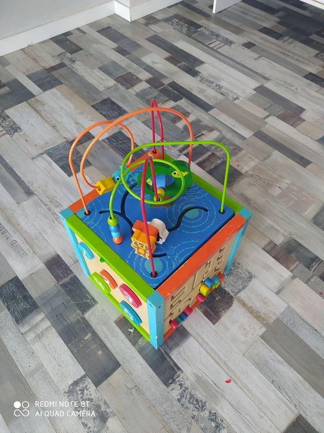 juguete madera