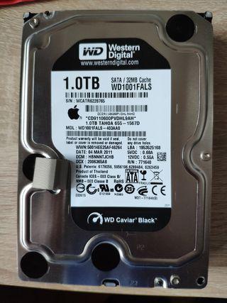 disco duro WD caviar 1Tb de apple