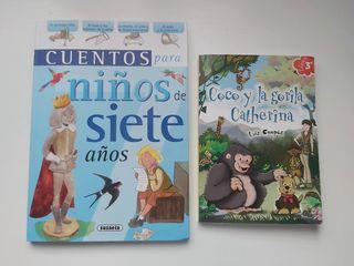 2 libros infantiles edad recomendada 7 años