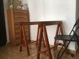 Caballetes madera para mesa comedor